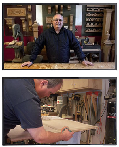 real craftman teaching woodworking lessons