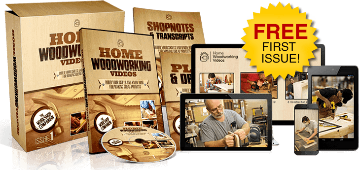 home woodworking video lessons